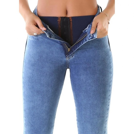 Super Lipo Super Modeling Push-up Jeans