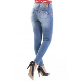 Super modeling skinny push-up jeans