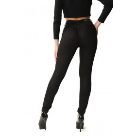Super modeling push-up trousers in stretch cotton