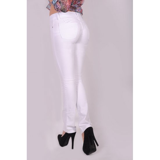 White pants push-up Brazilian Sawary
