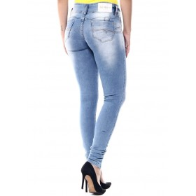 Jeans Brazilian push-ups Sawary clear with rips