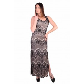 Long evening dress lace