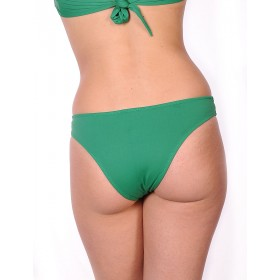 Bikini green traditional cut
