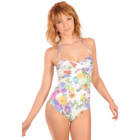 Swimsuit with bandeau