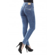Sawary modeling push-up jeans with removable internal modeler